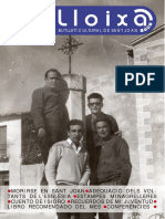 LLOIXA. Número 135, novembre/noviembre 2010. Butlletí informatiu de Sant Joan. Boletín informativo de Sant Joan