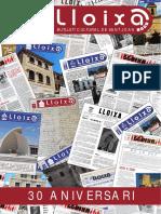 LLOIXA. Número 142, juny/junio 2011. Butlletí informatiu de Sant Joan. Boletín informativo de Sant Joan