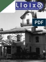 LLOIXA. Número 146, novembre/noviembre 2011. Butlletí informatiu de Sant Joan. Boletín informativo de Sant Joan