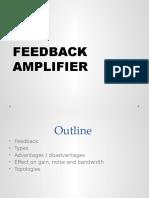 Ffedback Amplifier