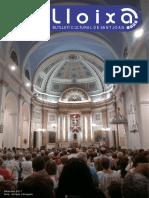LLOIXA. Número 144, septiembre/setembre 2011. Butlletí informatiu de Sant Joan. Boletín informativo de Sant Joan