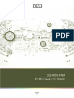 Relatorio CNI_Desafios Para a Industria 40 No Brasil_2016