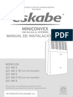Manual eskabe S21-MX