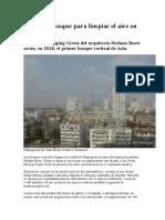 Ciudades Bosque Para Limpiar El Aire en China