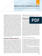 Pathobiology of Acute Lymphoblastic Leukemia