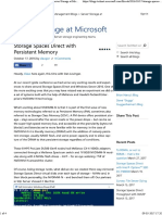 Storage Spaces Direct With Persistent Memory