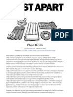 Fluid Grids · an a List Apart Article