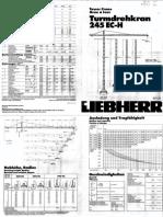 Liebher Tower Crane 245 EC-H