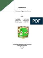 Kelompok 10 - Defisit Financing