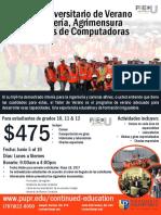 Universidad Politecnica Taller de  Verano