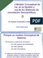 Impacto Del Modelo Conceptual de Sistema, En La Gestión y Gobernanza de Los Sistemas de Información Geocientíficos