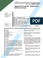 Nbr-11861 Mangueira de Incêndio - Requisitos e Métodos de Ensaio Copy