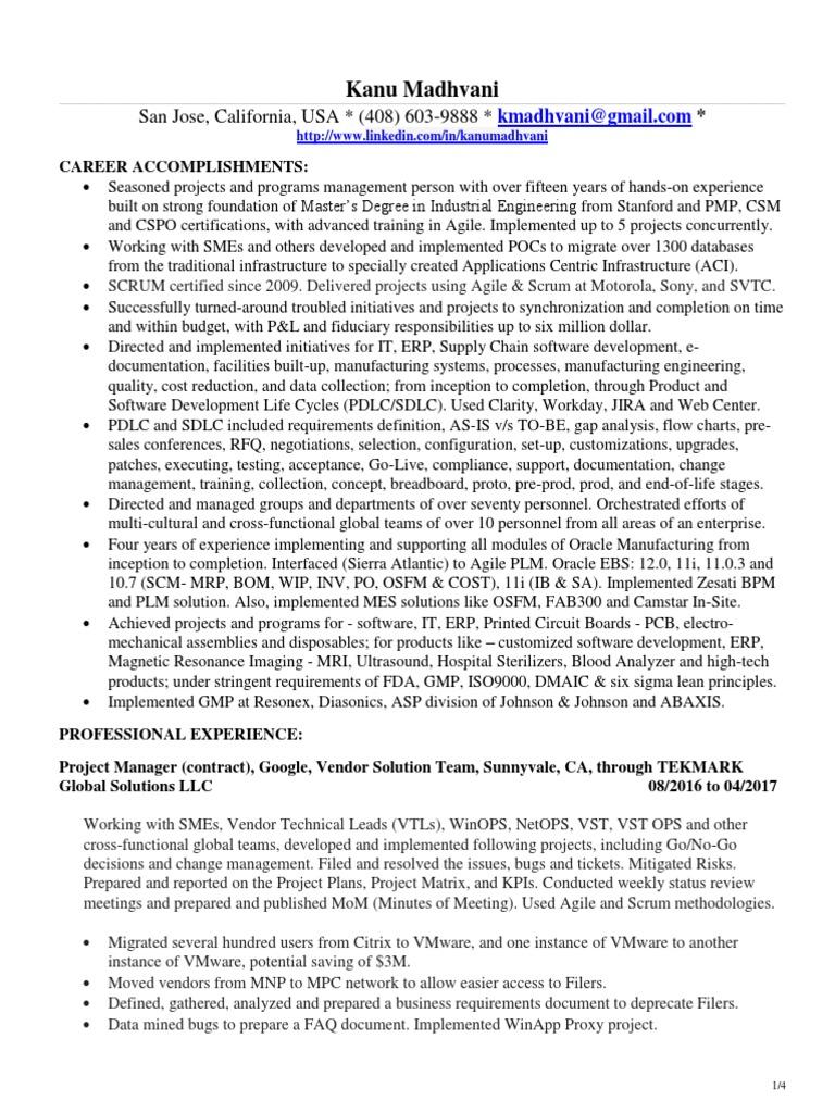Resume help dc
