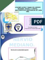 Lesiones Del Nervio Mediano Cubital y Radial