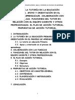 Tema 3 OPOSICION. Ja Tutoría en Educación Primaria