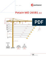 Potain MD 265 B1 J12