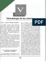 Guillermo Obiols Filosofia CapV Met de Las Ciencias