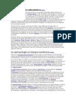 La Antropología en Latinoamérica