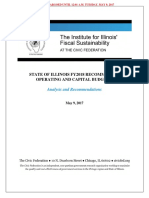 Civic Federation report on Illinois state budget