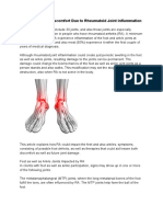 Foot and Ankle Discomfort