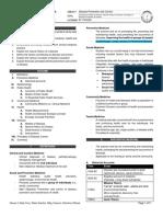 1.01 Concepts of Health & Disease, Natural History of Disease, Principles of DPC