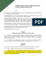 MARPOL - Convenção Internacional