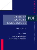 (Impact_ Studies in Language and Society 9) Marlis Hellinger (ed.), Hadumod Bußmann (ed.)-Gender Across Languages_ The Linguistic Representation of Women and Men. 1-John Benjamins (2001).pdf