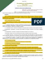 Decreto Nº 7219 [Lei PIBID]