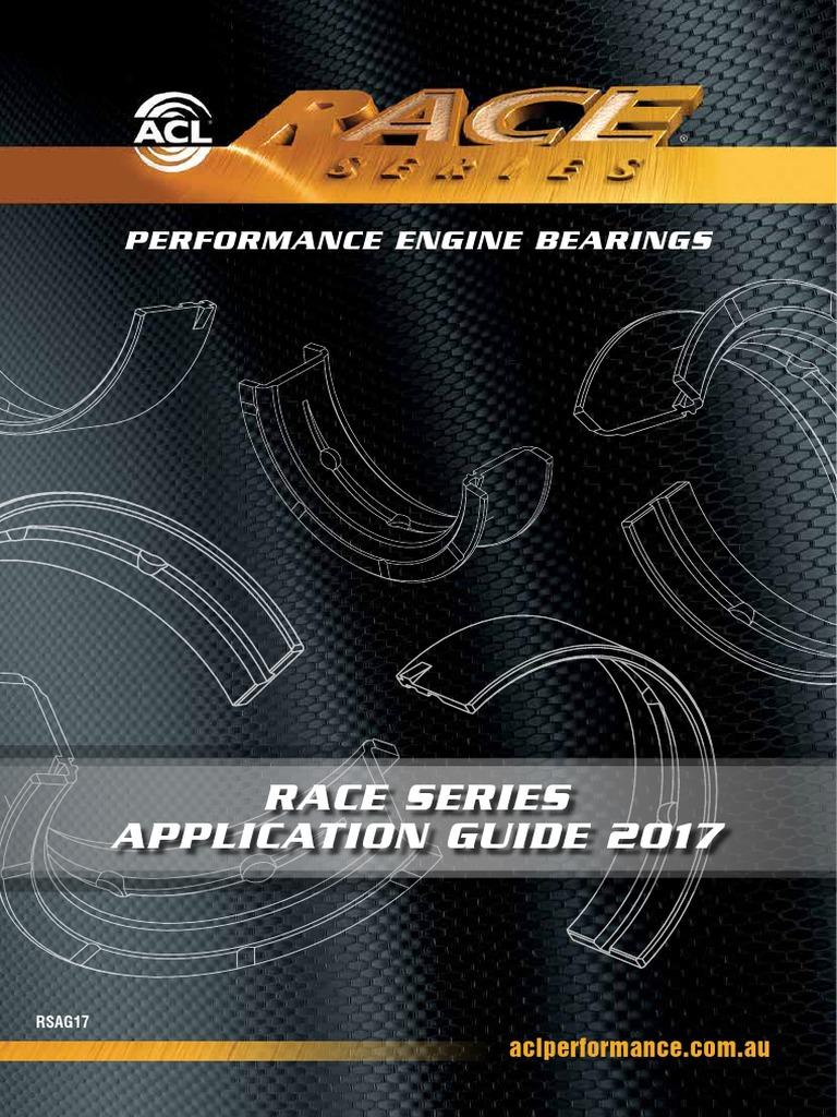 Lexus 1JZGE//1JZGTE 2492cc ACL Race Series Main /& Rod Bearing Set for Toyota