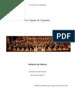 As Origens Da Orquestra