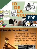 Acto Jurídico Vicios de La Voluntad.