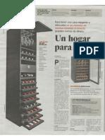 Antociano en la sección Buena Vida de Prensa Libre