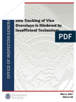 DHS OIG Report on Visa Overstays and Technology -17-56-May17