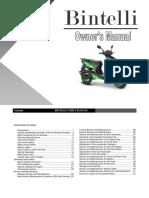 Bintelli Owners Manual