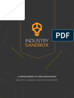 Industry Sandbox Consultation Report Final