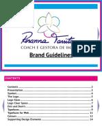 Rosanna Tarsitano Brand Identity Guidelines