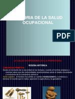 Historia de Salud Ocupacional