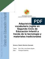 Snchez Quesada Beatriz Tfg Educacin Infantil. PDF.