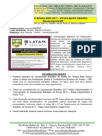 Campeonato Brasileiro - Etapa Mato Grosso - Informações (Rondonópolis-MT)