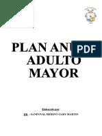 Plan Anual Del Adulto Mayor Para El 2017