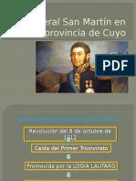 EL General San Martín en la provincia de.pptx