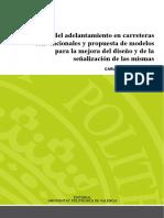 Llorca - Análisis Del Adelantamiento en Carreteras Convencionales y Propuesta de Modelos Para La ...