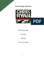 Kyle Somerville Final Summative
