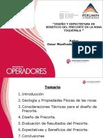 TT-079 Diseño y Expectativas de beneficio del precorte en la Mina Toquepala.ppt