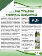 BOLETÍN N° 34_ Dia Mundial contra el uso de agroquímicos