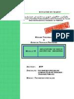 M18 Application Du Dessin Assisté Par Ordinateur AC CTTP-BTP-CTTP