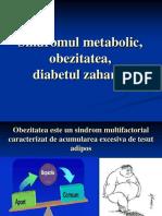 13. Obezitate + diabet