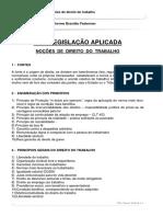 Nocoes de Direito Do Trabalho(1)