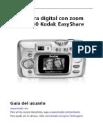 Manual Camara Kodak Cx7330 Español