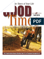 Fauquier County Parks and Recreation Good Times - Fall 2010